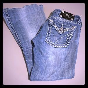 Women's MISS ME Jeans, Flare Style, Size 26, EUC!